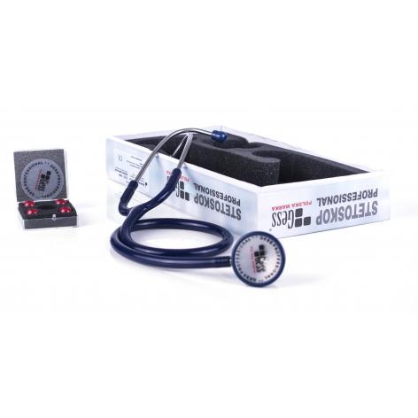 Stetoskop Gess Profesional w cenie 91,67zł, marka GESS - POLSKA MARKA w kategori STETOSKOPY MEDYCZNE / LEKARSKIE. Hurtownia ...