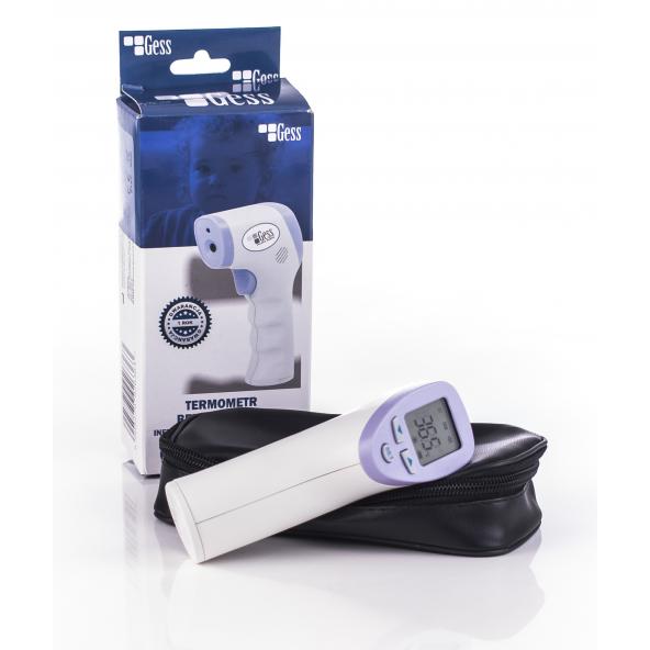 Termometr medyczny GESS - bezdotykowy w cenie 280,80zł marka GESS - POLSKA MARKA