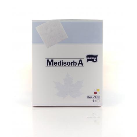 MEDISORB A 10X10 w cenie 11,81zł, marka MATOPAT w kategori OPATRUNKI I BANDAŻE. Hurtownia medyczna www.medyczny store