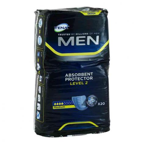 TENA MEN wkładki urologiczne w cenie 25,00zł, marka TENA  w kategori WKŁADKI UROLOGICZNE. Hurtownia medyczna www.medyczny store