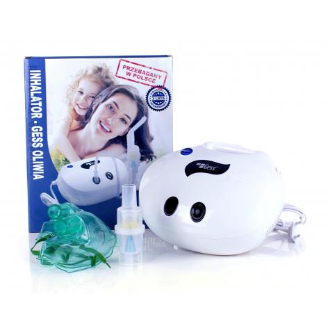 inhalator tłokowy Oliwia w cenie 89,65zł marka GESS - POLSKA MARKA
