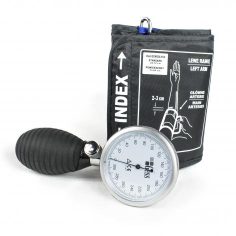 ciśnieniomierz zegarowy GESS DELUX w cenie 51,85zł, marka GESS - POLSKA MARKA w kategori Cisnieniomierze zegarowe