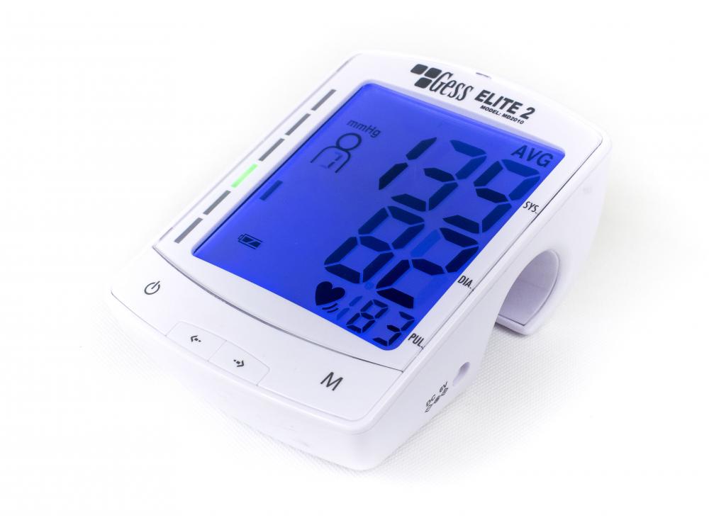 Ciśnieniomierz ELITE 2 w cenie 101,84zł, marka GESS - POLSKA MARKA w kategori Cisnieniomierze Automatyczne