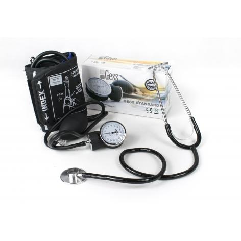 GESS STANDARD ciśnieniomierz ze stetoskopem w cenie 39,81zł, marka  w kategori CIŚNIENIOMIERZE ZEGAROWE/STANDARDOWE. Hurtown...