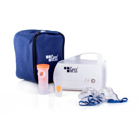 Inhalator tłokowy GESS MAJA w cenie 97,22zł, marka GESS - POLSKA MARKA w kategori INHALATORY I AKCESORIA DO INHALACJI. Hurto...