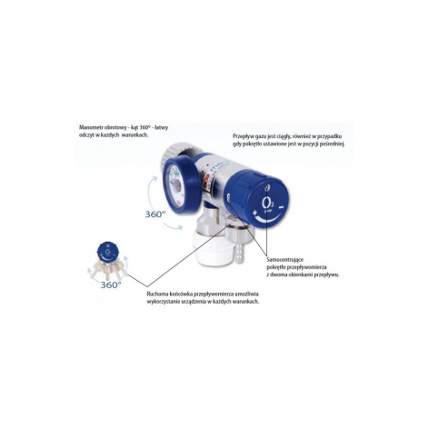 Reduktor MEDISELECT II w cenie 739,81zł, marka  w kategori Resuscytatory, akcesoria i maski do resuscytacji. Hurtownia medyc...