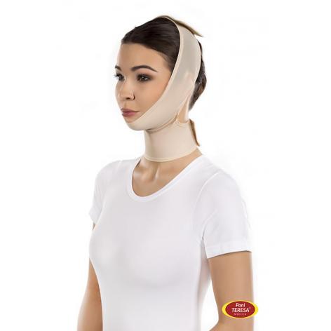 Model na twarz, podbródek i szyję marki PANI TERESA® w cenie 66,00zł, marka PANI TERESA w kategori Pooperacyjne ubrania ucis...