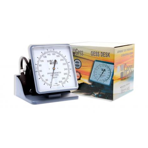 ciśnieniomierz zegarowy stołowy GESS DESK w cenie 89,00zł marka GESS - POLSKA MARKA