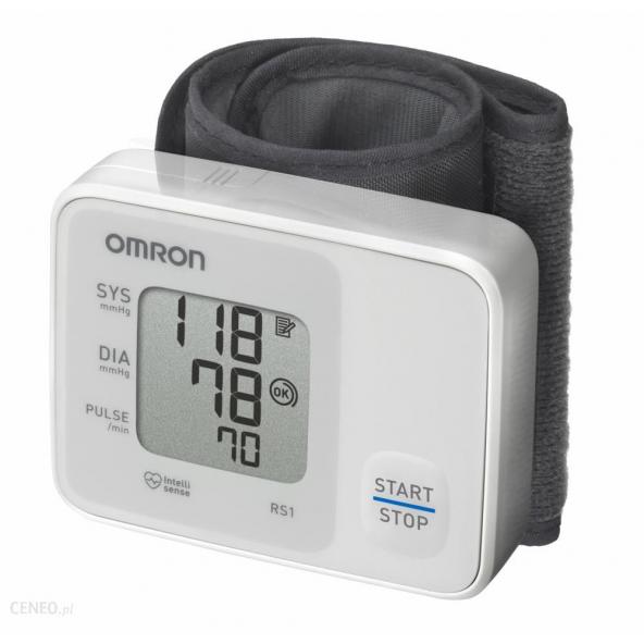 Ciśnieniomierz nadgarstkowy OMRON RS1 w cenie 101,61zł, marka OMRON w kategori CIŚNIENIOMIERZE. Hurtownia medyczna www.medyc...