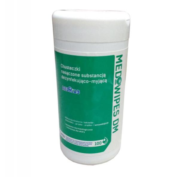 Chusteczki do dezynfekcji Mediwipes DM w cenie 15,12zł sklep medyczny store | wysyłka dziś