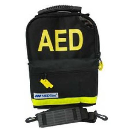 Torba na defibrylator AED Lifeline z 7-letnią baterią- czarna w cenie 225,82zł marka DefibTech