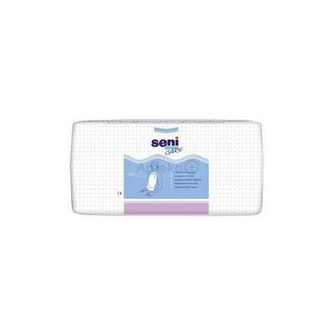 Śliniaki higieniczne z kieszonką SENI CARE A'100 w cenie 42,50zł marka SENI