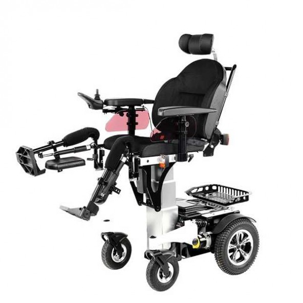 Elektryczny wózek inwalidzki DE LUXE LIFT w cenie 23,198.40 marka VITA CARE