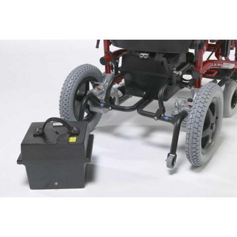 Elektryczny wózek pokojowo-terenowy RAPIDO w cenie 7,410.00, marka VERMEIREN w kategori WÓZKI ELEKTRYCZNE . Hurtownia medyczn...