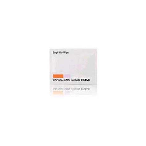 Chusteczki z odżywką Dansac Skin Lotion Tissue w cenie 0,62zł marka DANSAC