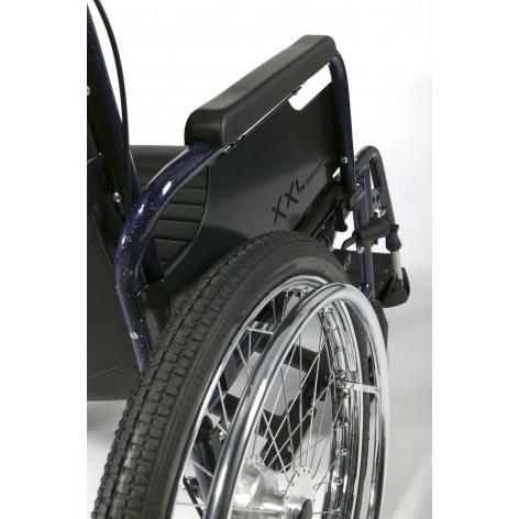 Wózek inwalidzki ze stopów lekkich ECLIPS XXL Vermeiren w cenie 4,193.33, marka VERMEIREN w kategori WÓZKI INWALIDZKIE RĘCZNE...