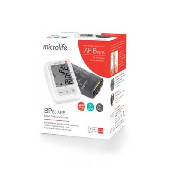 Ciśnieniomierz automatyczny Microlife BP B3 Afib w cenie 175,22zł, marka MICROLIFE w kategori CIŚNIENIOMIERZE AUTOMATYCZNE. ...