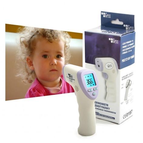 Termometr medyczny na podczerwień GESS - bezdotykowy w cenie 270,00zł marka GESS - POLSKA MARKA