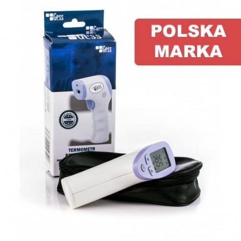 Termometr bezdotykowy GESS - medyczny w cenie 122,99zł marka GESS - POLSKA MARKA