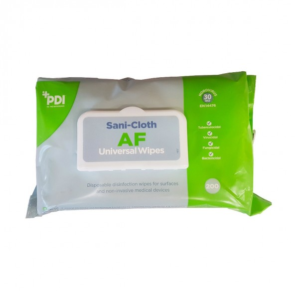 Chusteczki do dezynfekcji powierzchni bezalkoholowe w cenie 37,80zł marka PDI