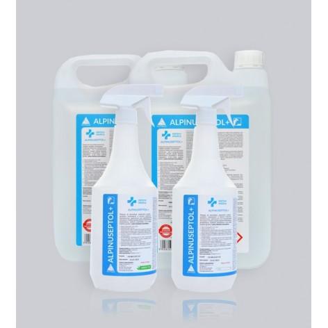 Płyn do dezynfekcji powierzchni Alpinuseptol 1l w cenie 24,90zł marka ALPINUS