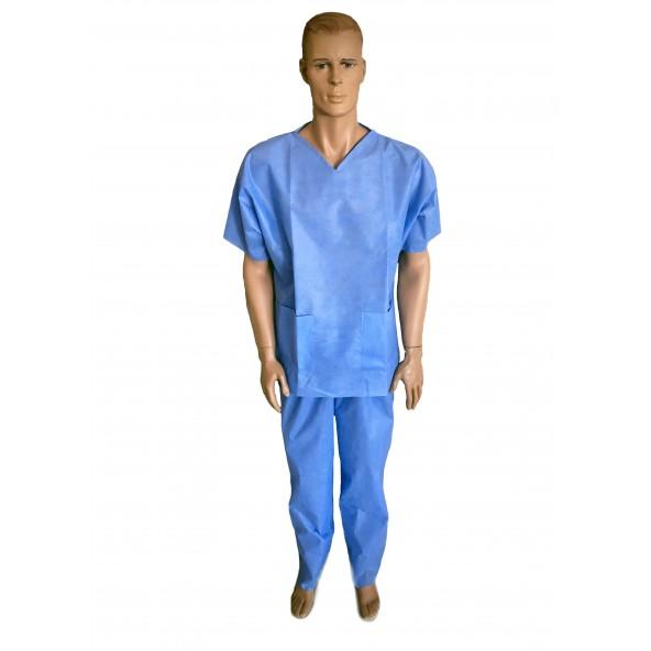 Ubranie ochronne chirurgiczne bluza i spodnie w cenie 13,93zł sklep medyczny store   wysyłka dziś