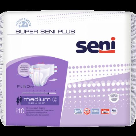 Super Seni PLUS - pieluchomajtki - NA NOC w cenie 44,45zł, marka SENI  w kategori NIETRZYMANIE MOCZU. Hurtownia medyczna www...