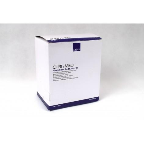 Jałowy Kompres z warstwą absorbcyjną Curi-Med w cenie 0,42zł marka ABENA