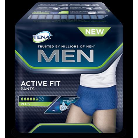 TENA MEN ACTIVE PLUS pieluchomajtki dla mężczyzn w cenie 82,00zł, marka TENA  w kategori PIELUCHOMAJTKI DLA DOROSŁYCH